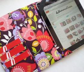 iPad Cover Hardcover iPad Case iPad Floral Custom iPad iPad 2 iPad 3 iPad 4